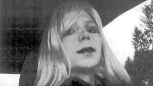Self photo of Chelsea Manning, sent to her Army Supervisor.